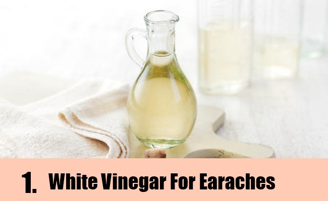 Natural Solution For Ear Infection Using Vinegar