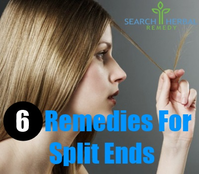 6 Remedies For Splits Ends