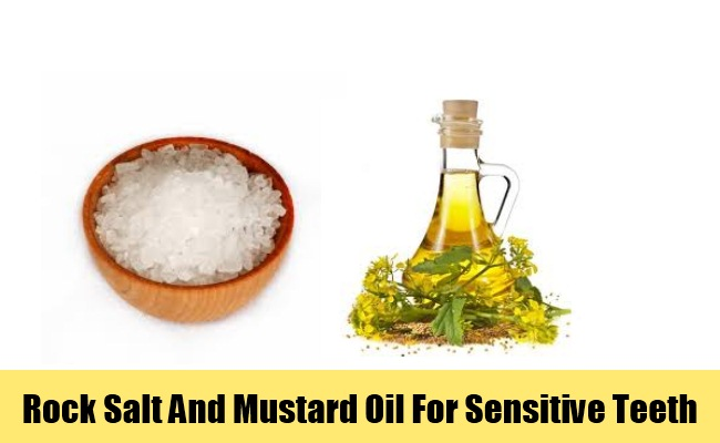 Rock Salt And Mustard Oil