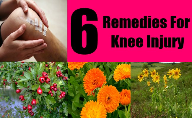 6 Remedies For Knee Injury