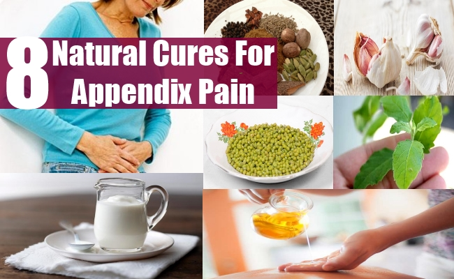 natural cures for appendix pain - how to cure appendix pain, Human Body