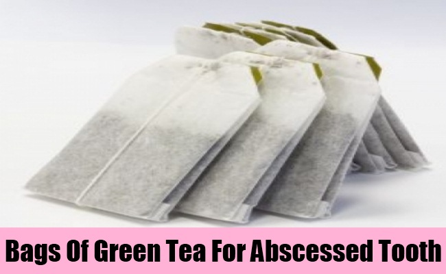 Bags Of Green Tea