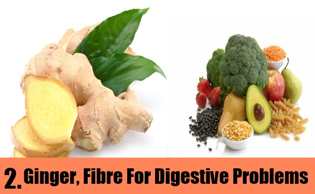Ginger, Fibre