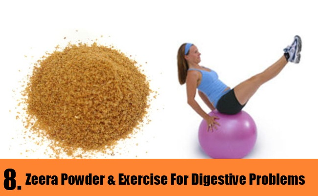 Zeera Powder & Exercise