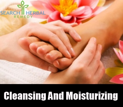 cleansing and moisturizing