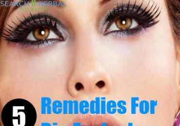 5 Remedies For Big Eyelashes