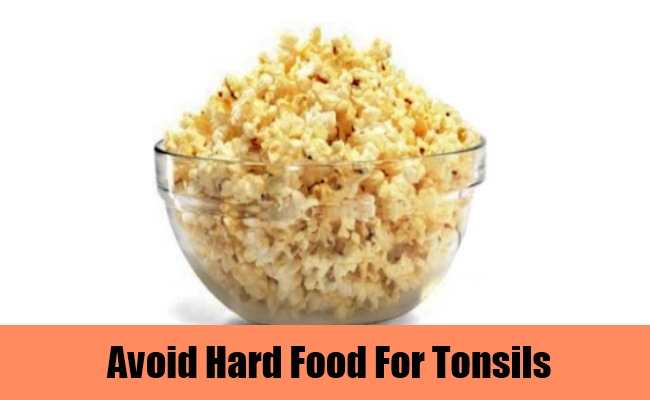 Avoid Hard Food