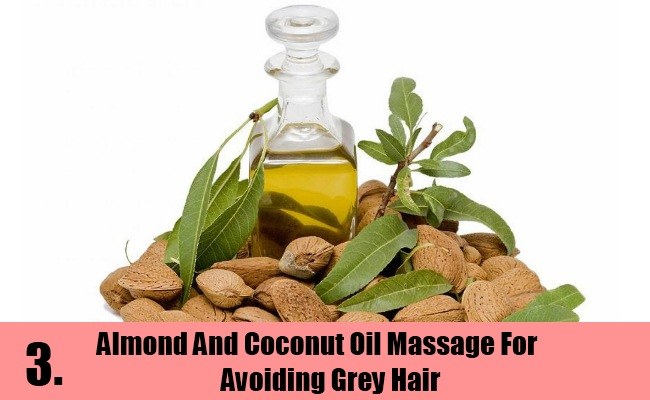 Almond And Coconut Oil Massage