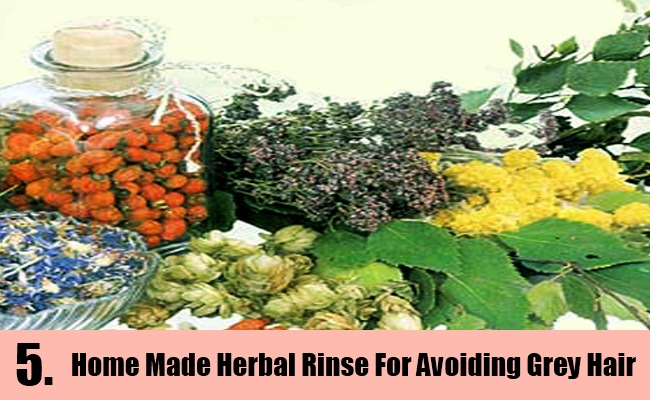 Home Made Herbal Rinse