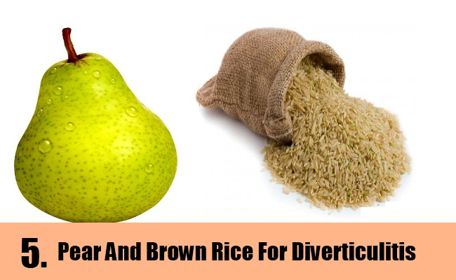 Pear And Brown Rice
