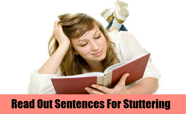 Read Out Sentences