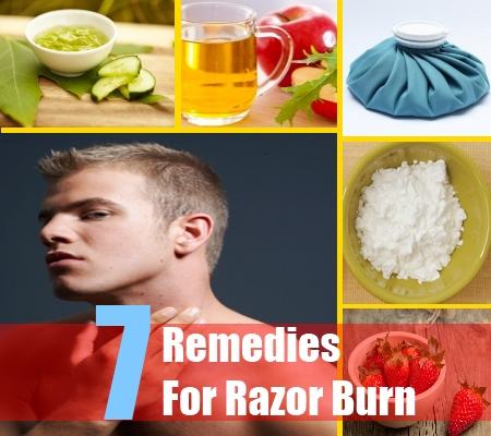 7 Razor Burn Home Remedies Natural Treatments And Cures