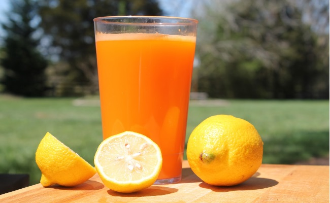 Orange And Lemon Juice