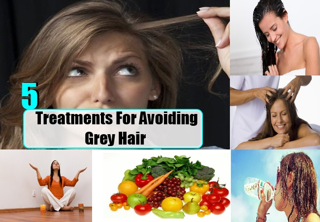 Treatments For Avoiding Grey Hair