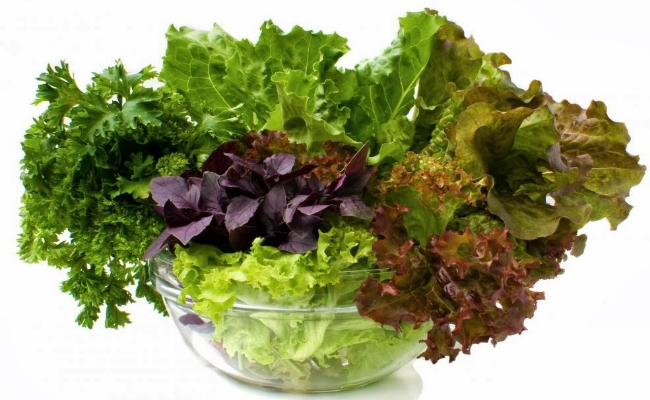 Consume Green Leafy Vegetables