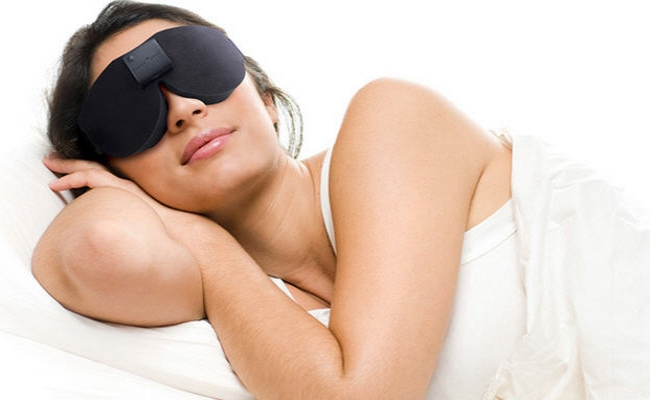 Wear A Sleeping Mask