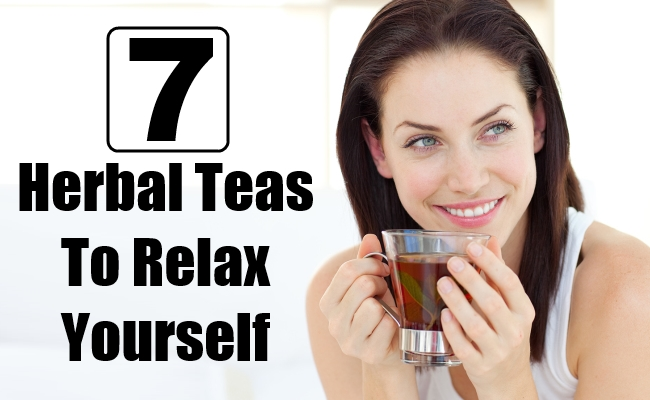 Herbal Teas To Relax Yourself
