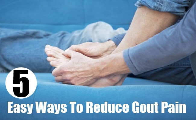 Easy Ways To Reduce Gout Pain