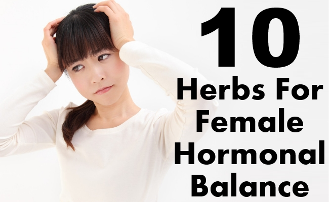 Herbs For Female Hormonal Balance