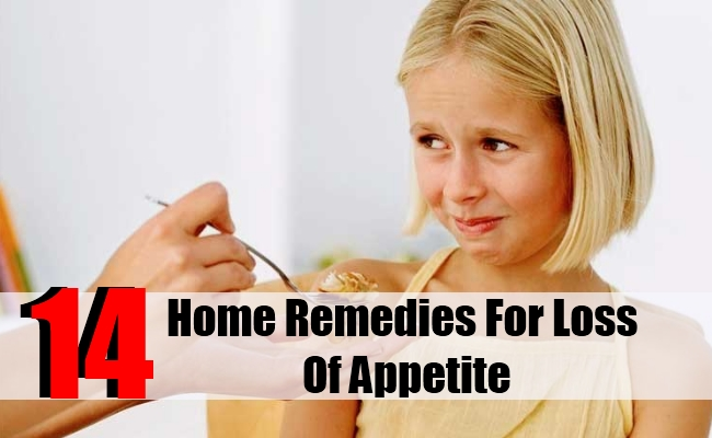 14 Home Remedies For Loss Of Appetite