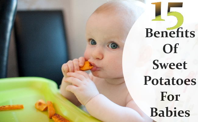 Benefits Of Sweet Potatoes For Babies