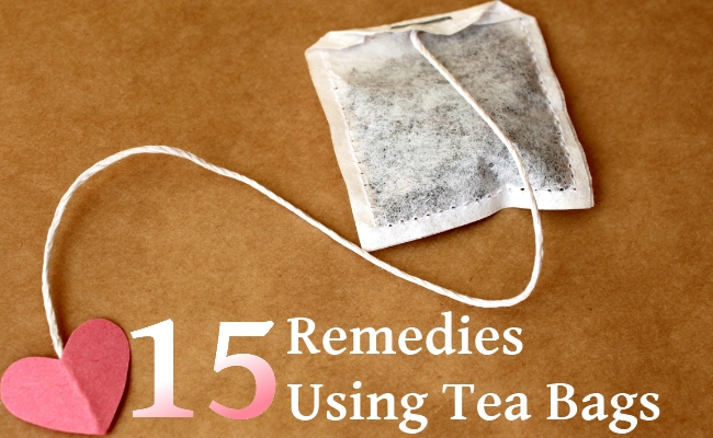 Remedies Using Tea Bags