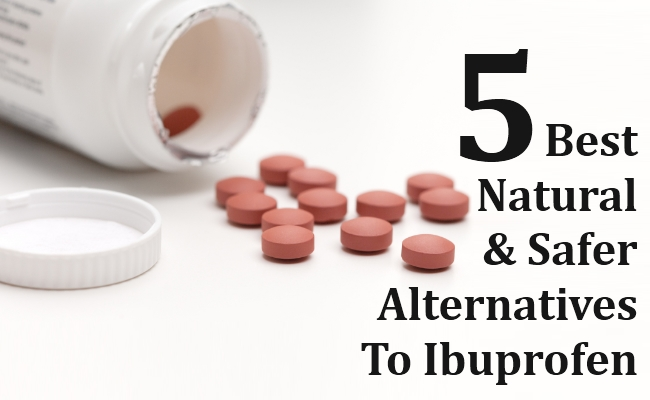 Best Natural and Safer Alternatives To Ibuprofen