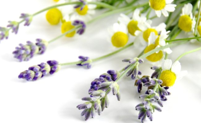 Lavender And Chamomile Detox Bath