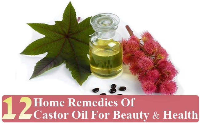 Home Remedies Of Castor Oil For Beauty And Health