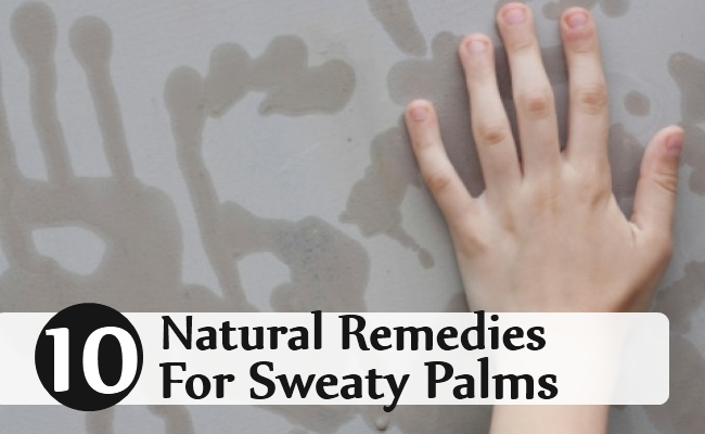 Natural Remedies For Sweaty Palms