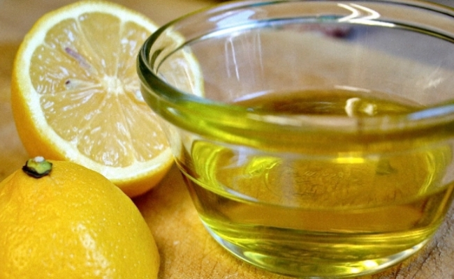 Olive Oil and Lemon Peel