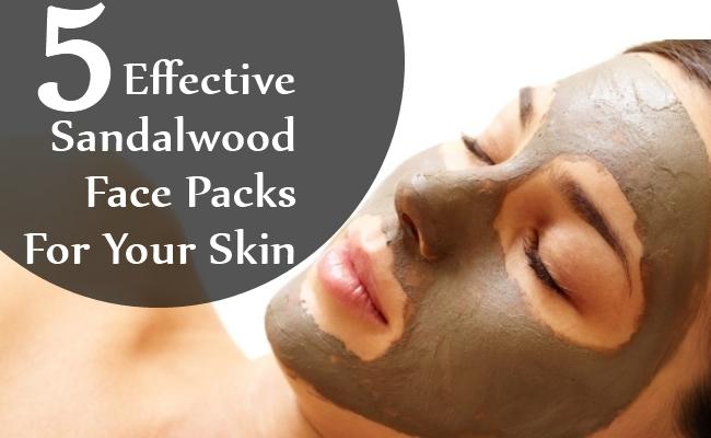 Effective Sandalwood Face Packs For Your Skin