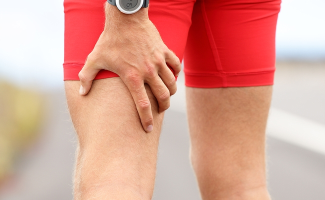 Provides Relief From Torn Muscles