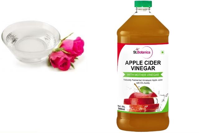 Apple Cider Vinegar And Rose Water