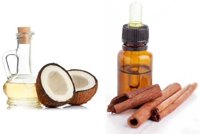 Use Coconut And Cinnamon Oil Concoction