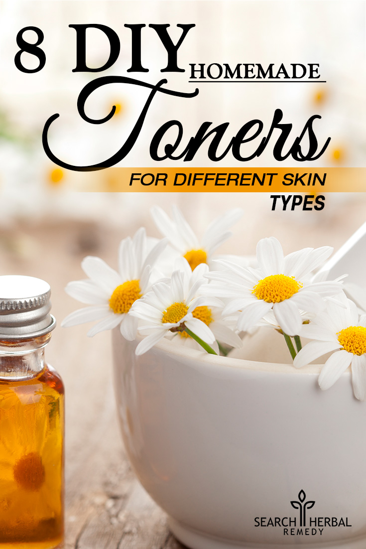 8 DIY Homemade Toners For Different Skin Types