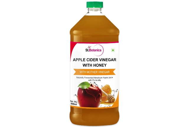 Honey with Apple Cider Vinegar