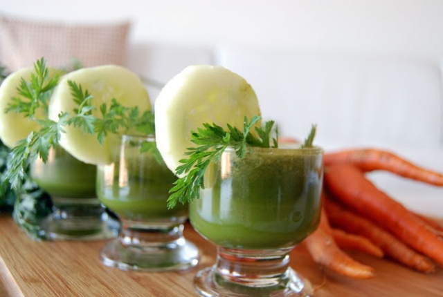 Carrot And Cucumber Juice