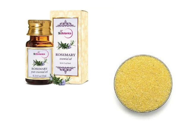 Rosemary Oil And Corn Meal