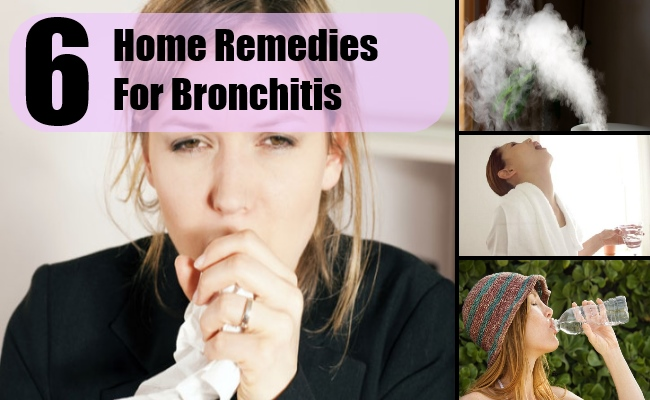 6 Home Remedies For Bronchitis