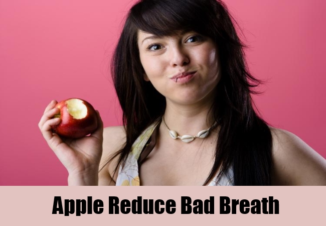 Apple Reduce Bad Breath