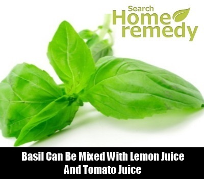 Basil Leaves Cures