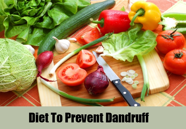 Diet For Prevention Of Dandruff