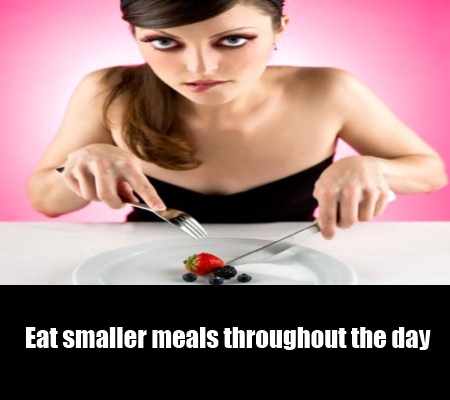 Eat Less But Frequently