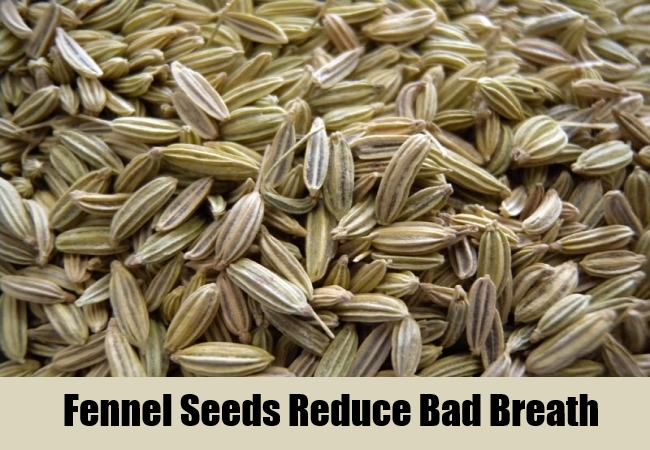 Fennel Seeds Reduce Bad Breath