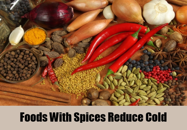 Foods With Spices Reduce Cold