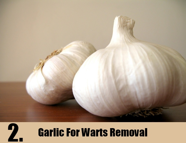 Garlic For Warts Removal