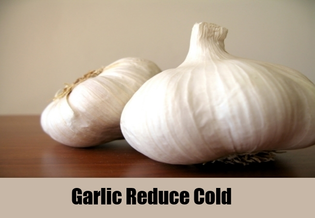 Garlic Reduce Cold