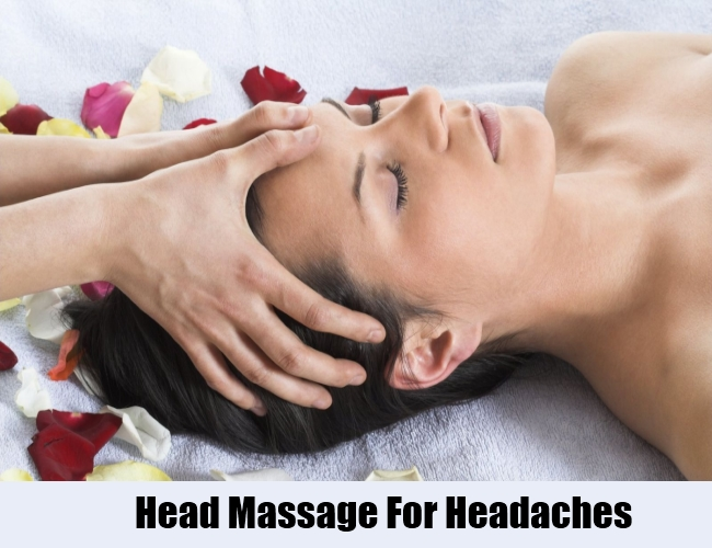 Head Massage For Headaches