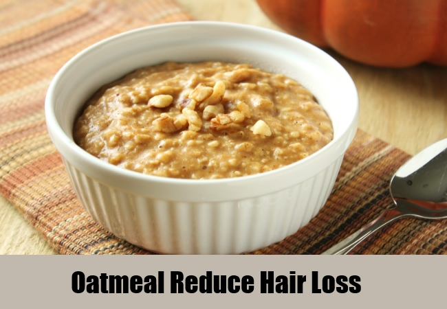 Oatmeal Reduce Hair Loss